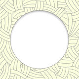 Beige hand-drawn lines background Royalty Free Stock Image