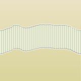 Beige heftiges Papier decken Streifen-Platte auf Lizenzfreie Stockfotos