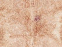 beige Hintergrund des strukturierten Zusammenfassungsalten Papierblattes Kopieren Sie Platz Weinlesepergament stockfoto