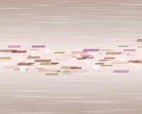 Beige Hintergrund mit farbigen Elementen Lizenzfreie Stockbilder