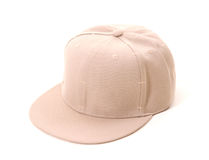 Beige hip hop cap Stock Photo