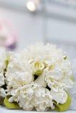 Beige Hochzeitsblumenstrauß Stockbild