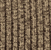 Beige knitted wool texture as background Royalty Free Stock Photography