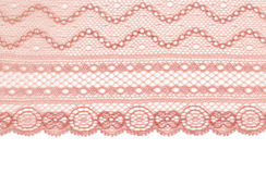 Beige lace Royalty Free Stock Photos