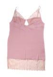 Beige lace ladies night shirt Stock Image
