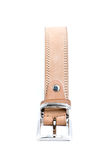Beige leather belt 4 Royalty Free Stock Photo