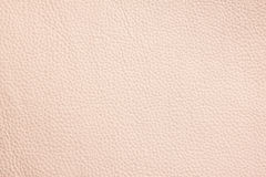 Beige leather pattern Royalty Free Stock Photos