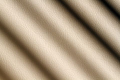 Beige leather shaded Royalty Free Stock Photos