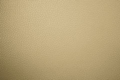 Beige leather texture. Can be used as background Royalty Free Stock Photography