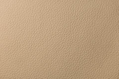 Beige leather texture Royalty Free Stock Image