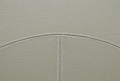 Beige leather texture Royalty Free Stock Images