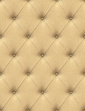 Beige leather upholstery Royalty Free Stock Image
