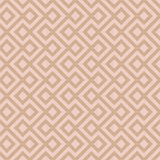 Beige Linear Weaved Seamless Pattern. Royalty Free Stock Images