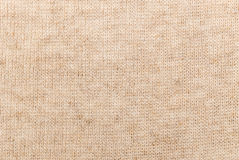 Beige linen cloth Royalty Free Stock Photography