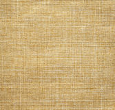 Beige linen fabric. For background Royalty Free Stock Photo