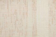 Beige linen texture Stock Photo