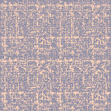 Beige linen texture seamless pattern vector Royalty Free Stock Images