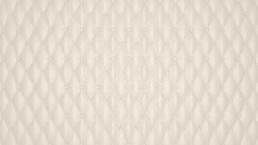 Beige Luxury buttoned leather pattern Royalty Free Stock Photography
