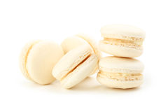 Beige macarons Stock Photography