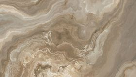 Beige marble texture. Beige marble pattern with curly veins. Abstract texture and background. Soft colored 2D illustration Royalty Free Stock Images