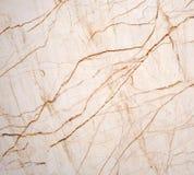 Beige marmeren textuur Stock Afbeelding