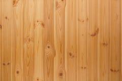 Beige marrone di legno del fondo da una serie di bordi Immagine Stock