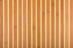 Beige mattt för bambu som abstrakt textur, bakgrund, sammansättning Arkivbild