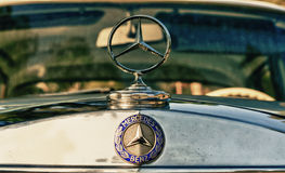 Beige Mercedes-Benz W110 Royalty Free Stock Photo
