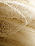 Beige mesh fabric Royalty Free Stock Photo