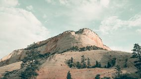 Beige Mountain Cliff Royalty Free Stock Photography