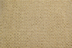 Beige natural linen fabric with brilliance golden lurex close-up. Aida texture for the background Stock Photos