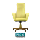 Beige office chair Royalty Free Stock Image