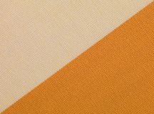 Beige and orange fabric texture Royalty Free Stock Photos
