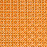 Beige and orange geometric seamless background Stock Image