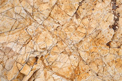 Beige - orange rock texture, closeup of photo. Texture background, stone. Closeup of photo Stock Photo