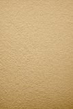 Beige painted plastered surface Stock Image