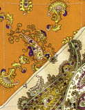 Beige  paisley background Royalty Free Stock Image
