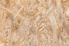 Beige panel OSB Royaltyfri Foto