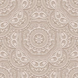 Beige pattern. Abstract beige seamless pattern, decorative ornament Stock Photo