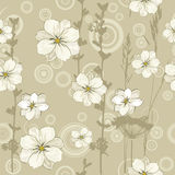 Beige pattern Stock Images
