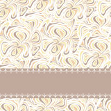 Beige pattern with stripe Stock Photo