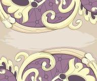 Beige pattern Stock Photos