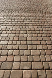 Beige pavement Royalty Free Stock Photos