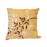 Beige pillow Royalty Free Stock Image