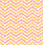 Beige pink chevron seamless pattern background Royalty Free Stock Photography