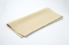 Beige place mat Stock Image