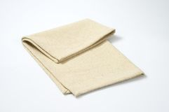 Beige place mat Royalty Free Stock Photos
