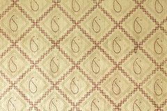 Beige printed handmade art paper Royalty Free Stock Photography