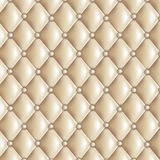 Beige quilted texture Royalty Free Stock Photo