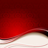 Beige  and red background Stock Photo